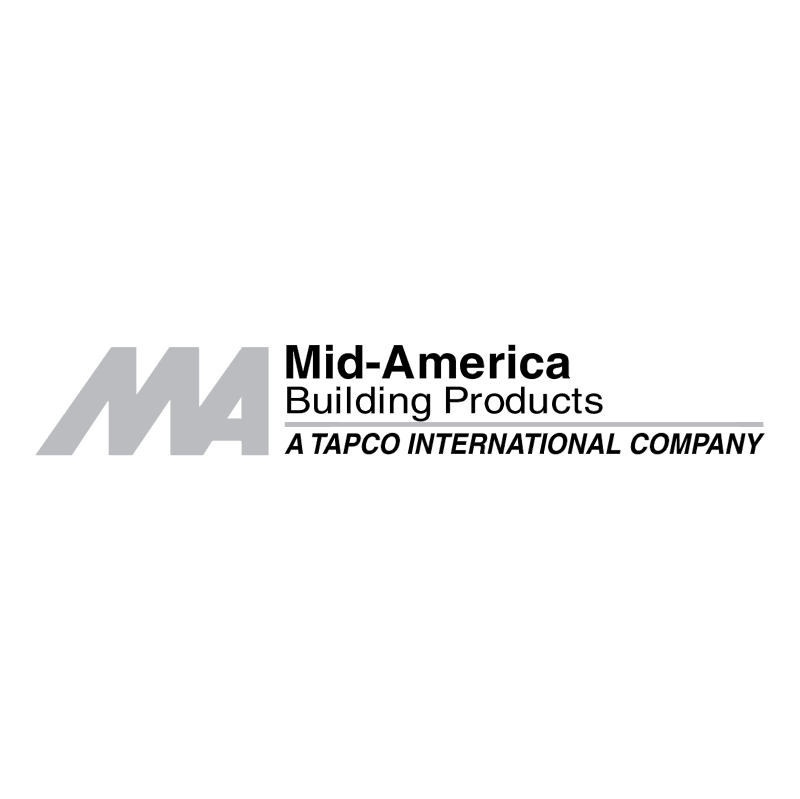 Mid America Building Products vector