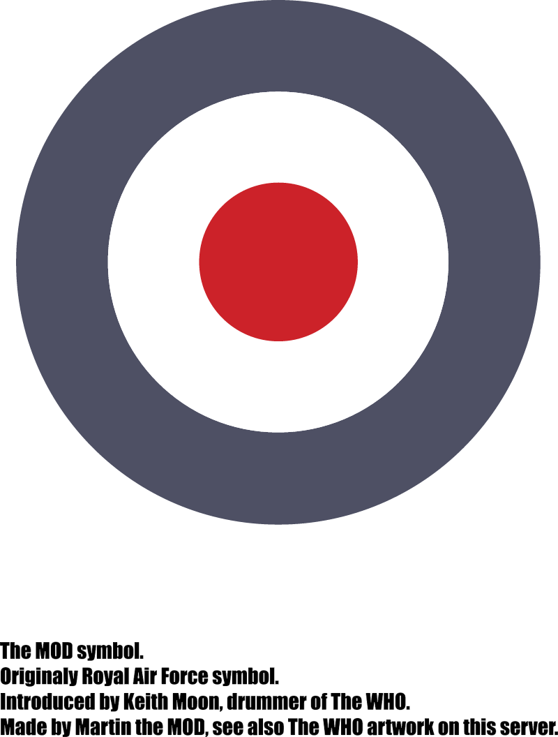Mod Symbol introduced by the WHO vector