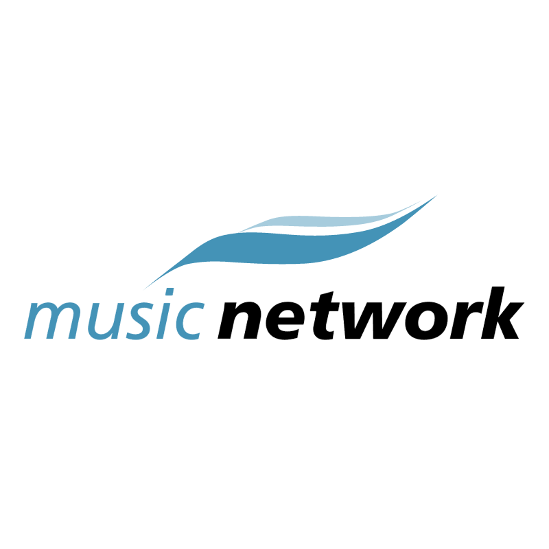 Music Network vector