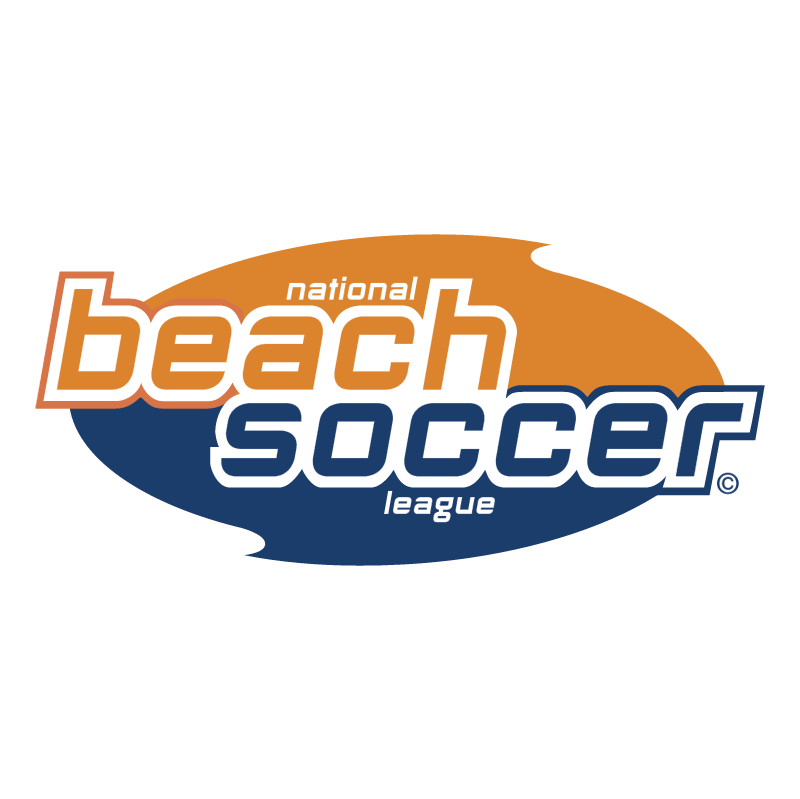 National Beach Soccer League vector
