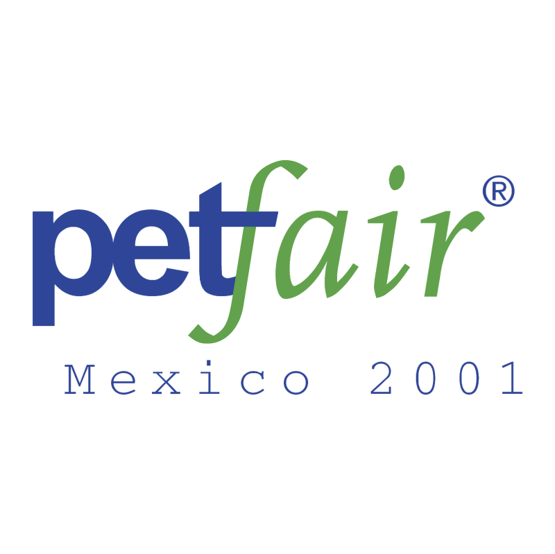 Petfair Mexico 2001 vector logo