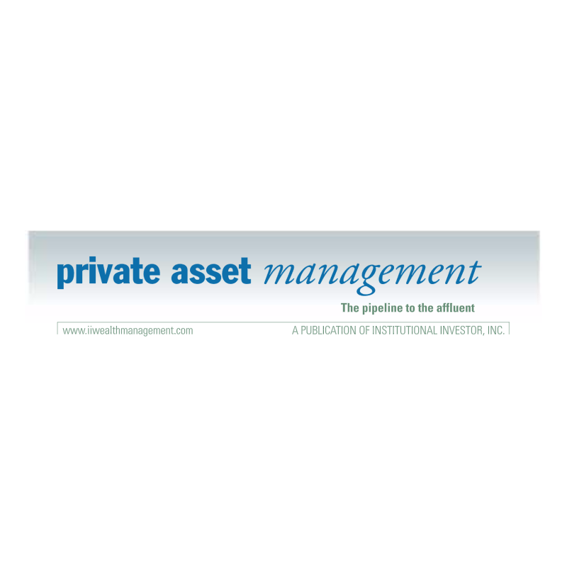 Private Asset Management vector logo