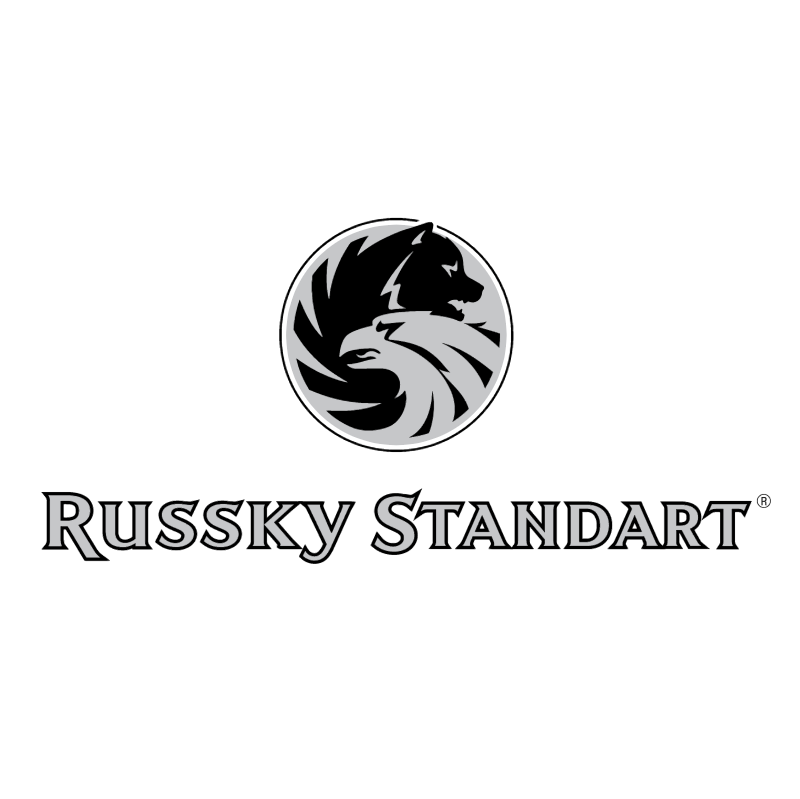 Russky Standart Vodka vector