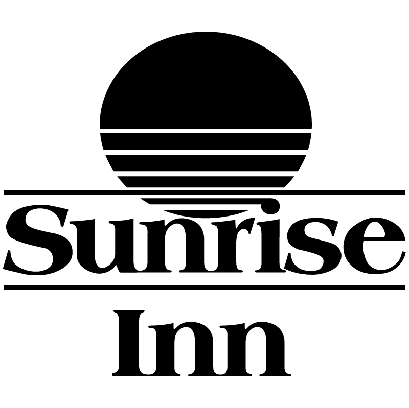 Sunrise Inn vector logo