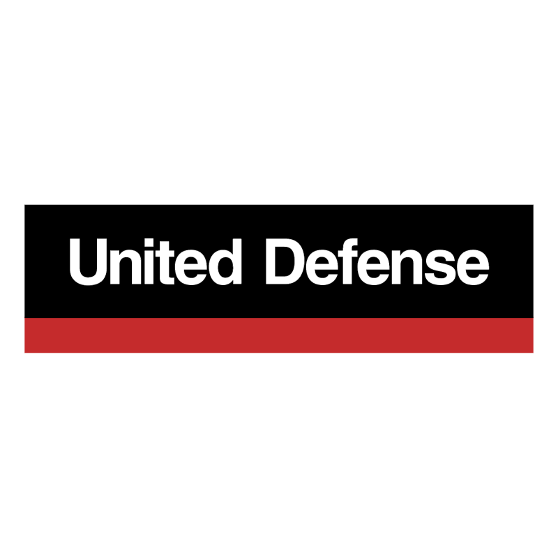 United Defense vector logo