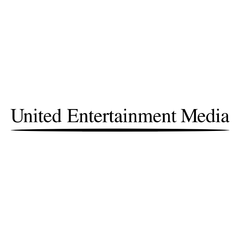 United Entertainment Media vector logo