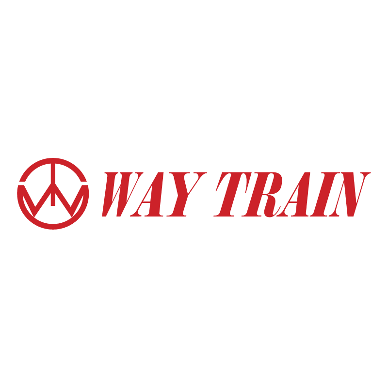 Way Train vector