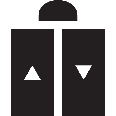 Hotel Lift vector logo
