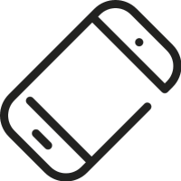 Inclined Smartphone vector