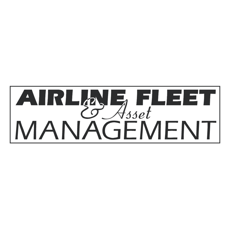 Airline Fleet & Asset Management vector