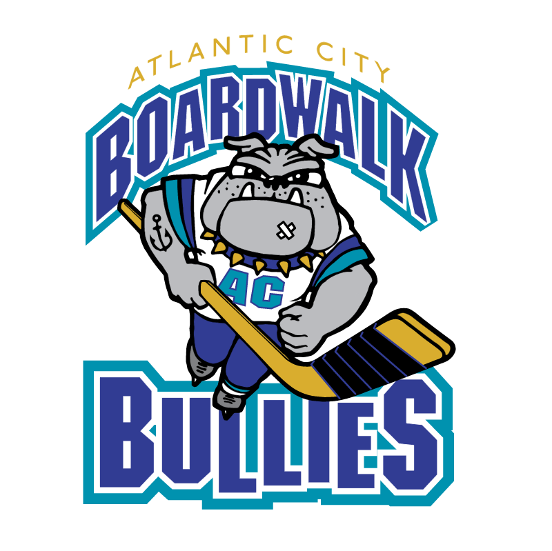 Atlantic City Boardwalk Bullies 72076 vector