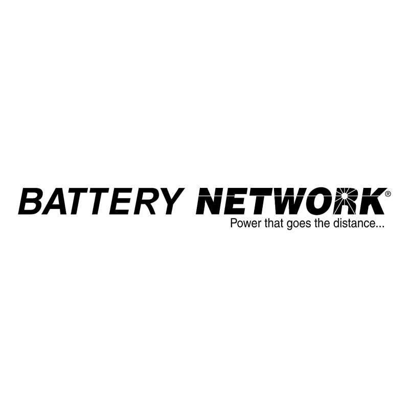 Battery Network vector