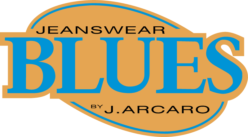 Blues Jeanswear logo vector