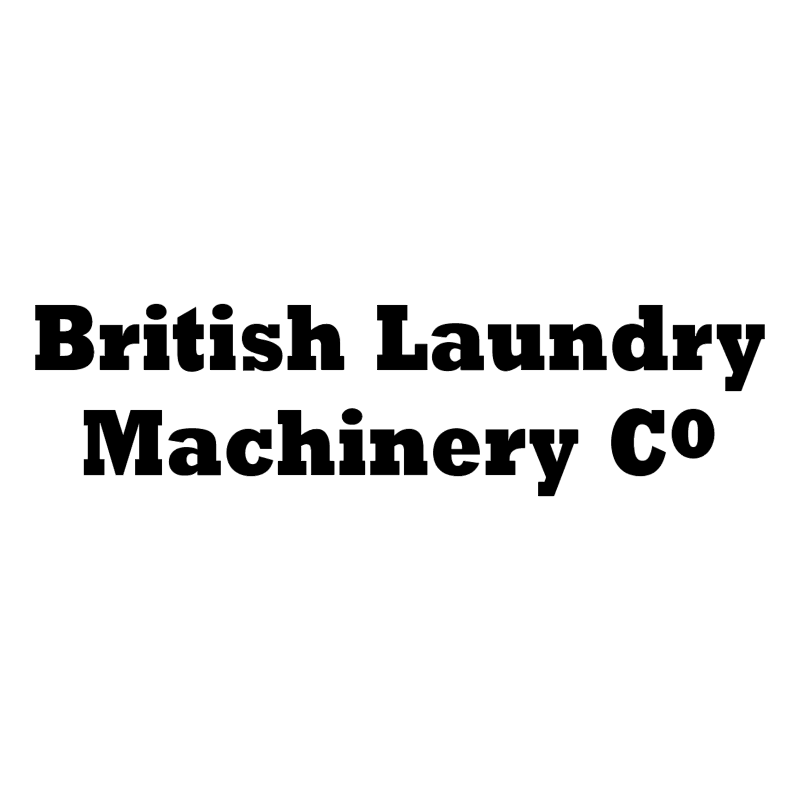 British Laundry Machinery vector logo