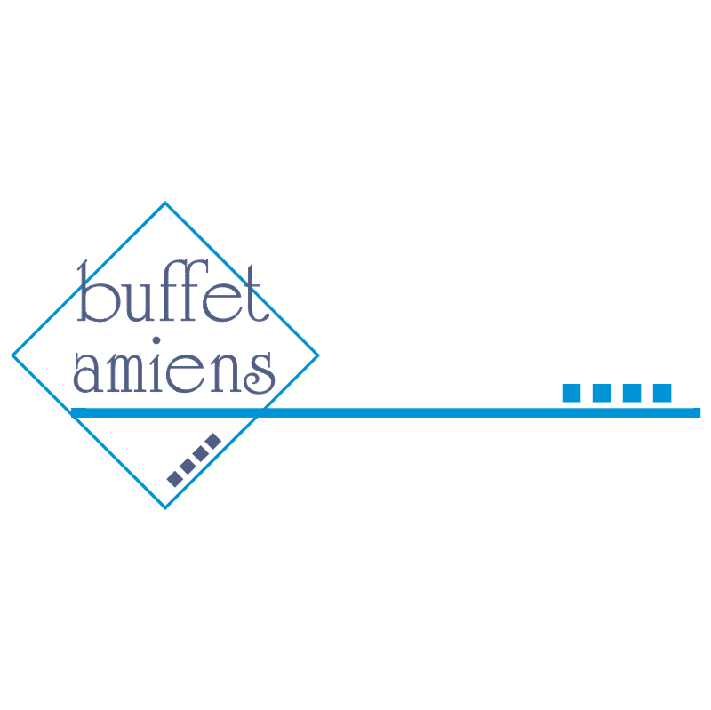Buffet Amiens vector