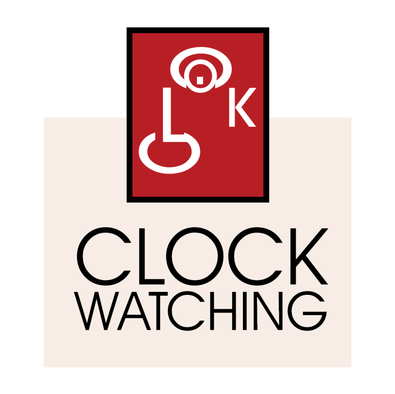 Clock Watching 1224 vector