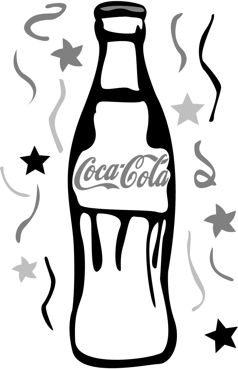 Coca Cola Bottle2 vector