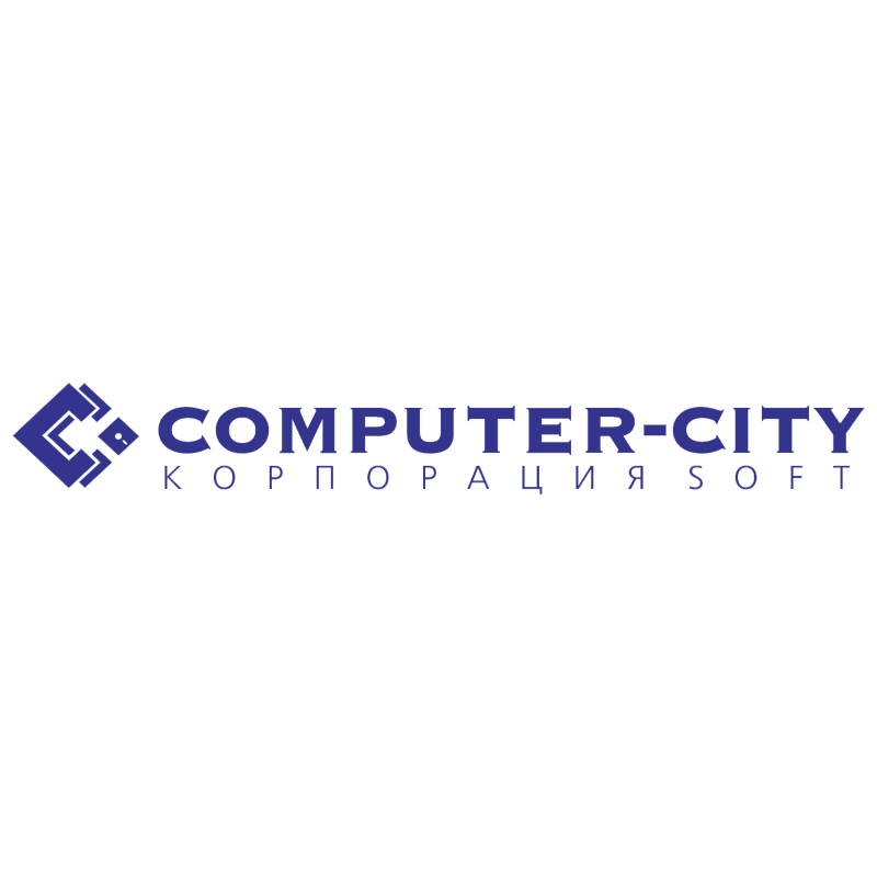 Computer City vector logo