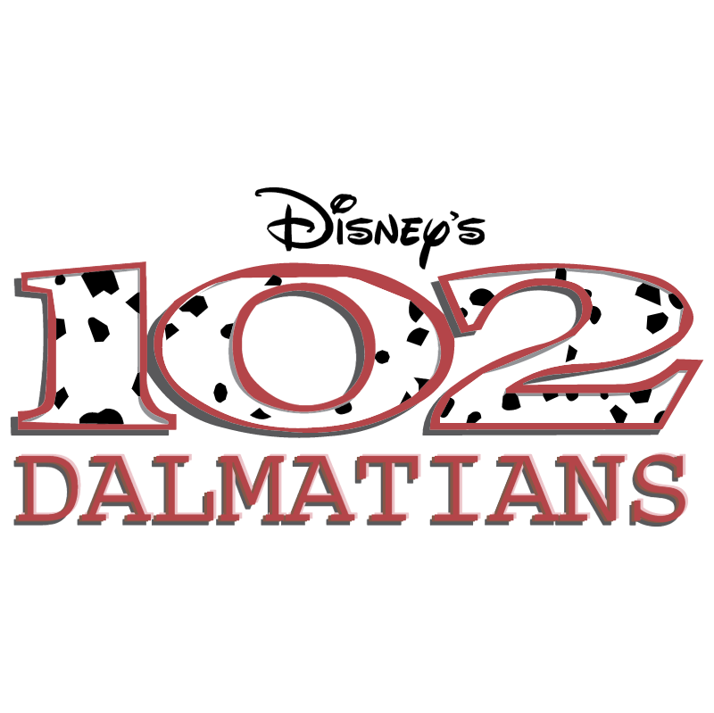 Disney's 102 Dalmations vector logo