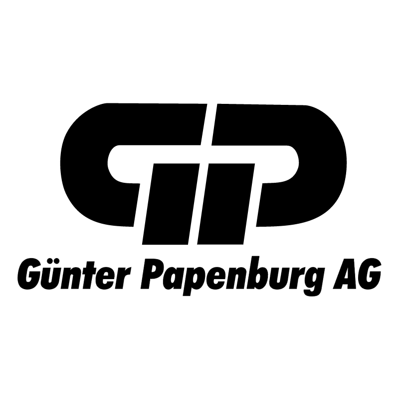 Gunter Papenburg vector logo