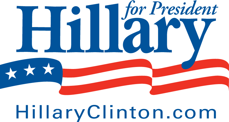 Hillary Clinton for President vector