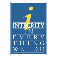 Integrity in Every Thing We Do vector