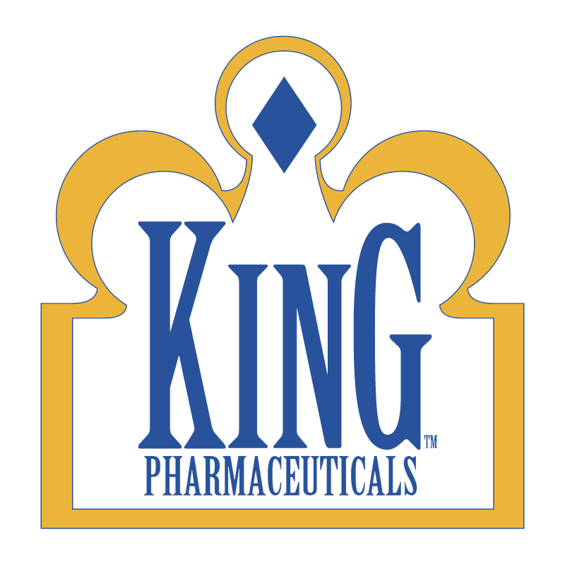 King Pharmaceuticals vector logo