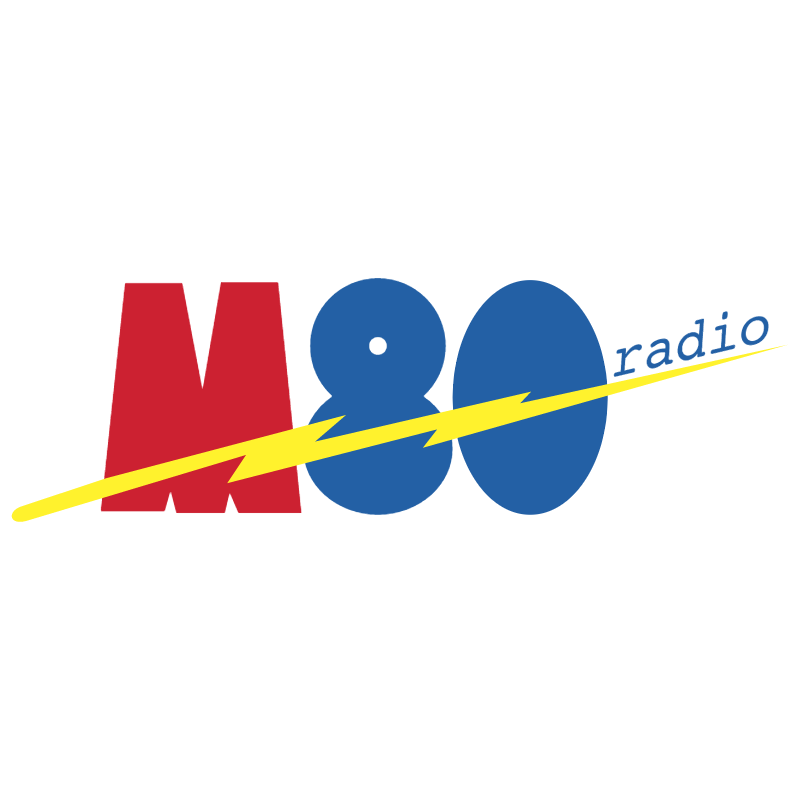 M80 Radio vector logo