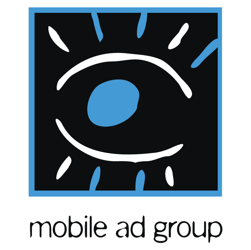 Mobile Ad Group vector