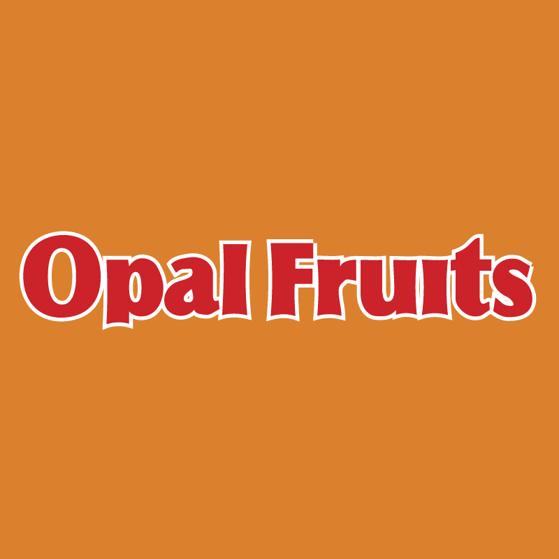 Opal Fruits vector