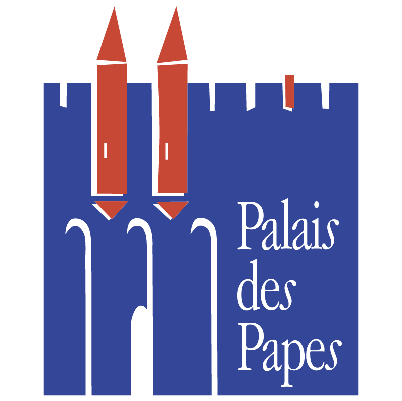 Palais des Papes vector
