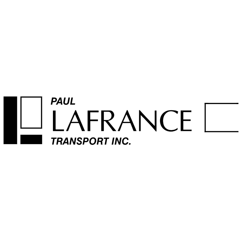 Paul Lafrance Transport vector logo