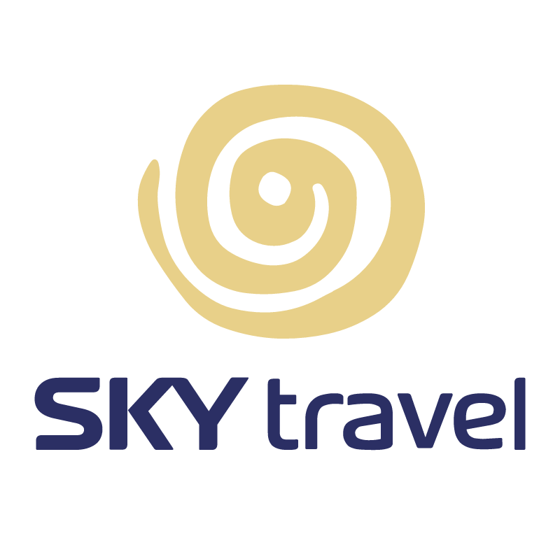 SKY travel vector
