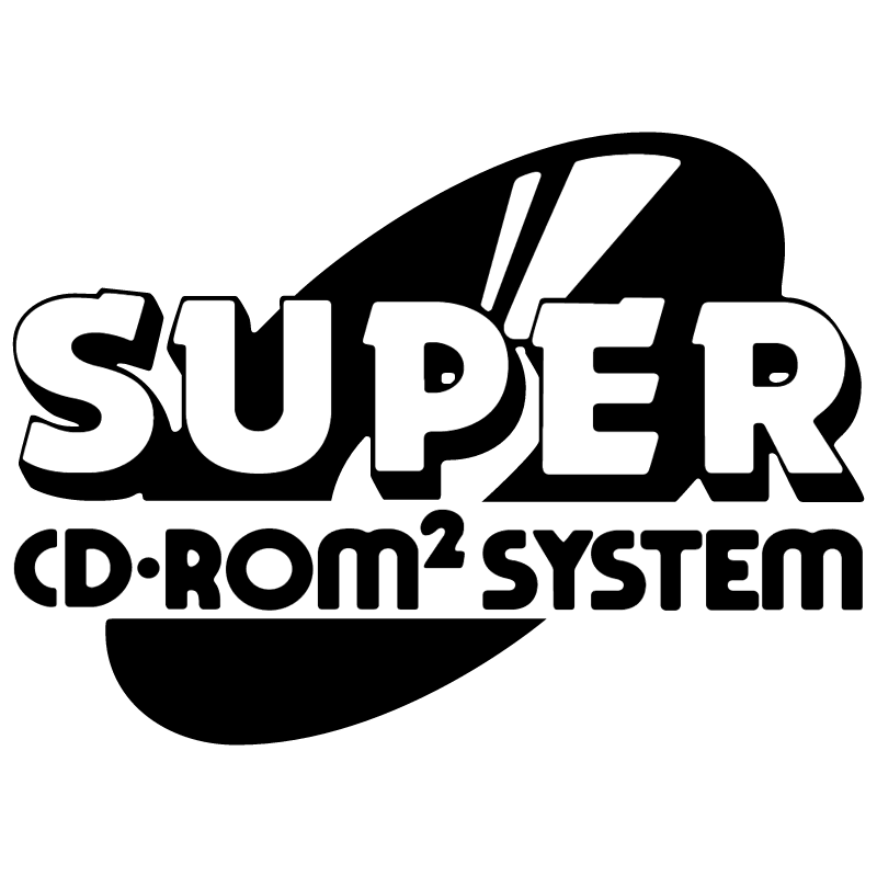 Super CD ROM System vector