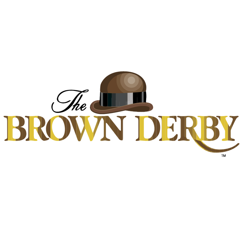 The Brown Derby vector logo