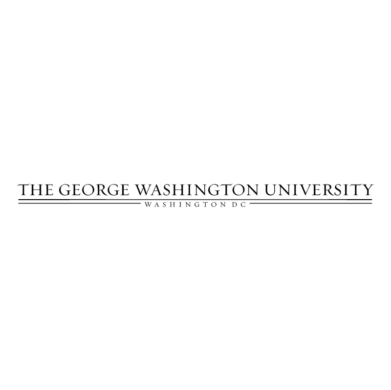 The George Washington University vector logo
