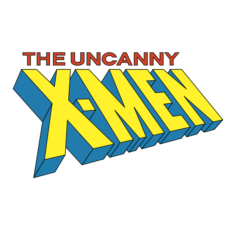 The Uncanny X Men vector
