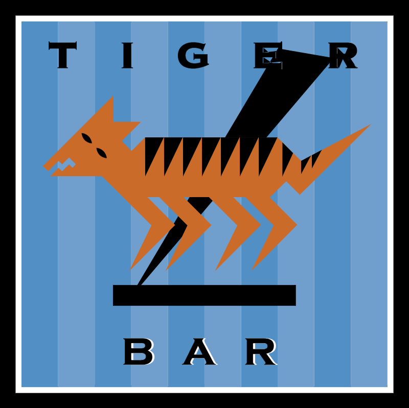 Tiger Bar vector