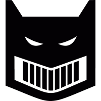 Batman mask vector