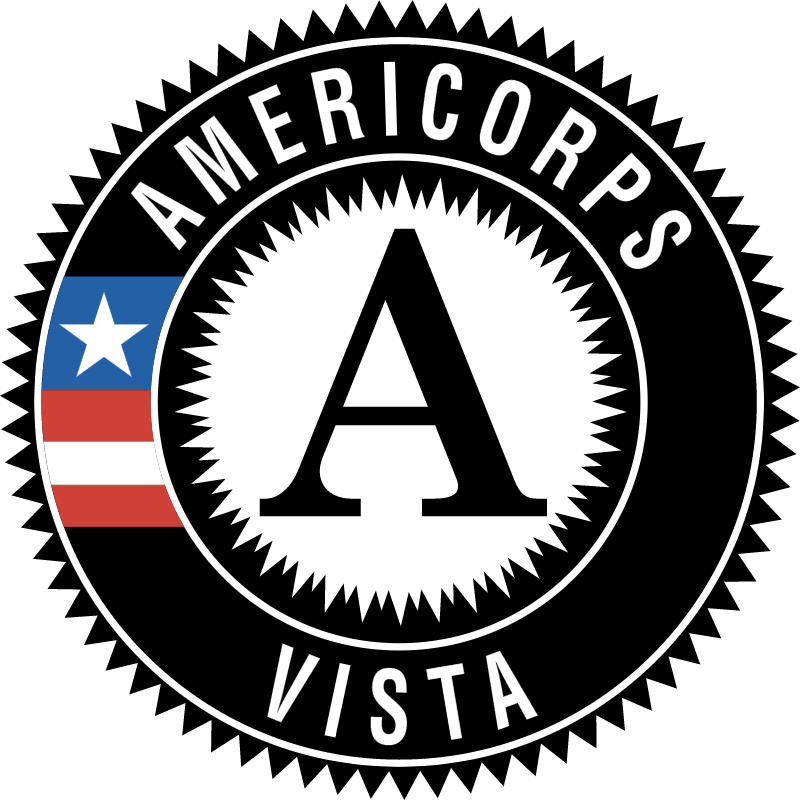 AMERICORPS VISTA vector logo