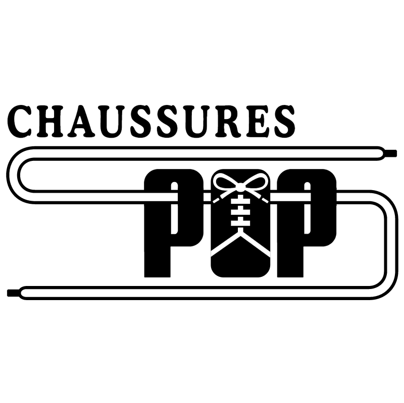 Chaussures Pop vector logo