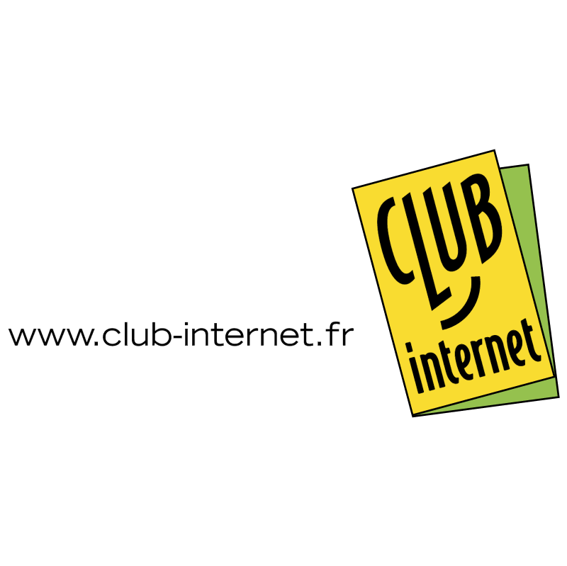 Club Internet vector logo