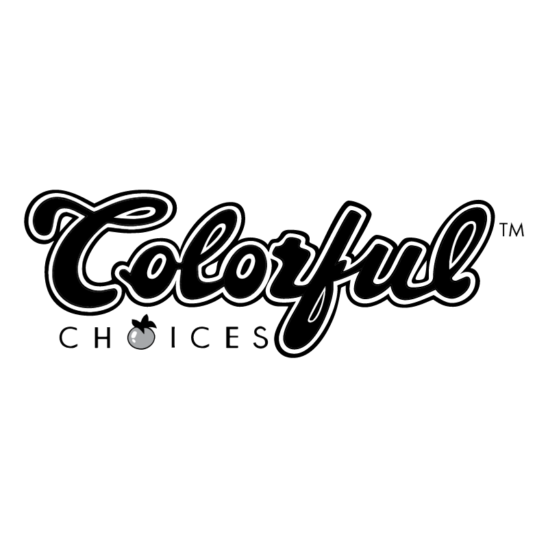 Colorful Choices vector