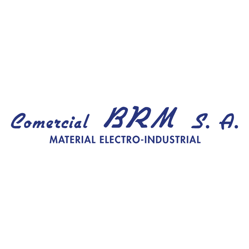 Commercial BRM vector logo