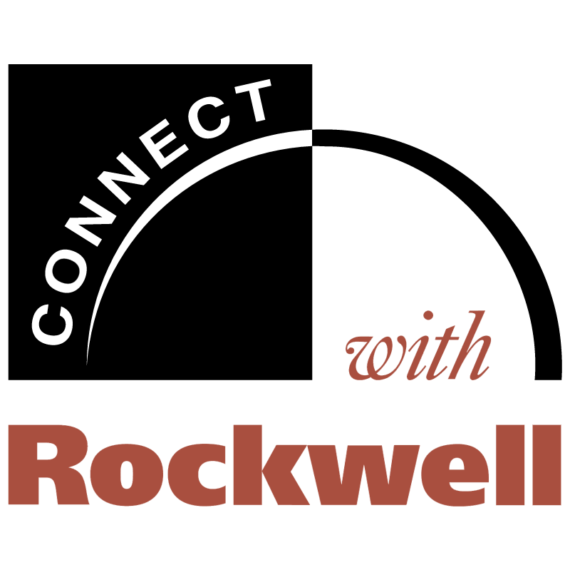 Connect With Rockwell vector logo