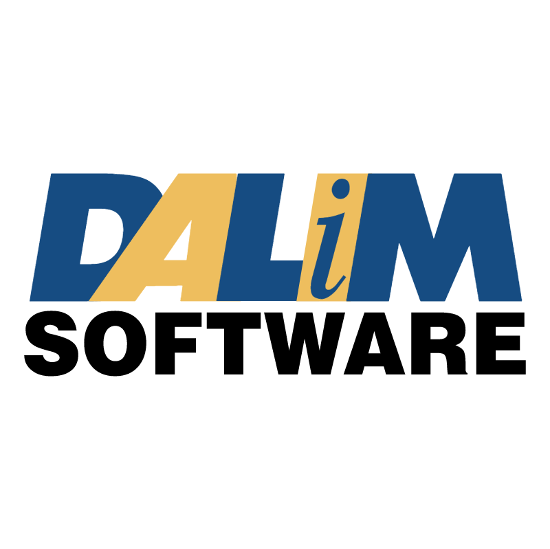 Dalim Software vector logo
