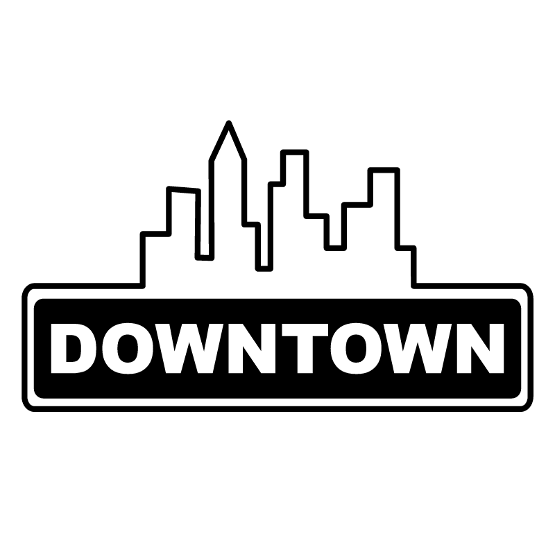 Downtown Snack Bar vector