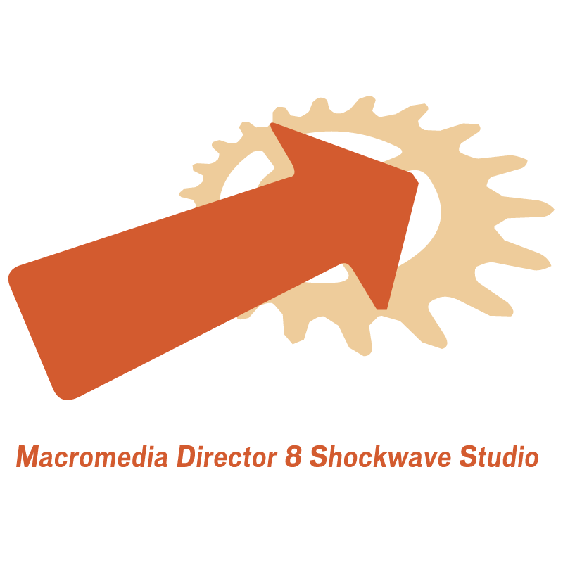 Macromedia Director 8 Shockwave Studio vector
