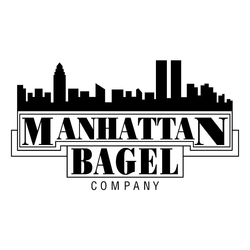 Manhattan Bagel vector