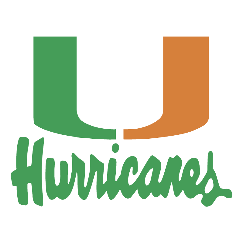 Miami Hurricanes vector logo